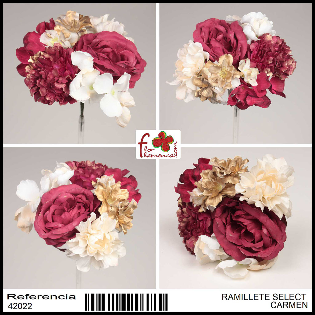 Ramillete Select FLOR FLAMENCA CARMEN