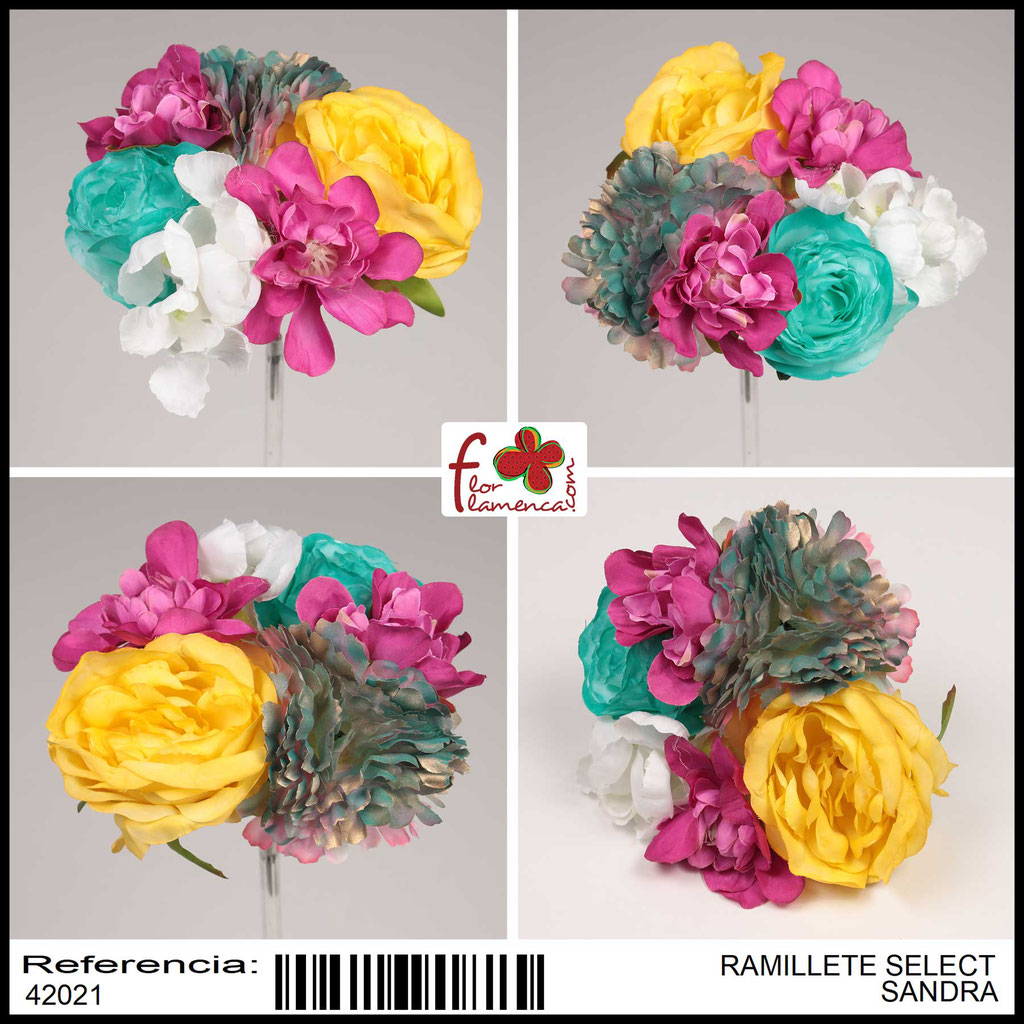 Ramillete Select FLOR FLAMENCA SANDRA