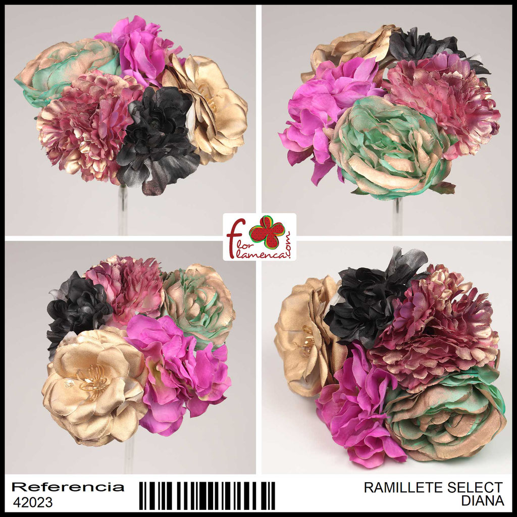 Ramillete Select FLOR FLAMENCA DIANA