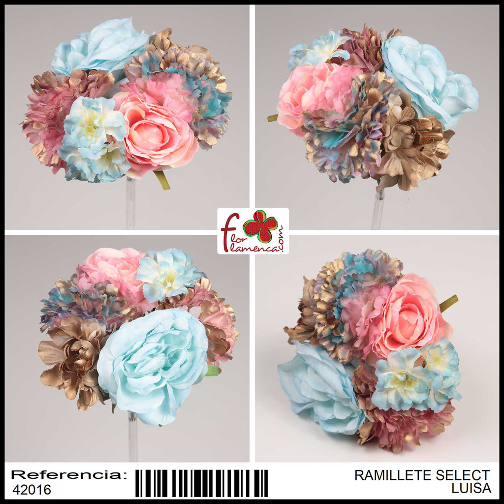 Ramillete Select FLOR FLAMENCA LUISA