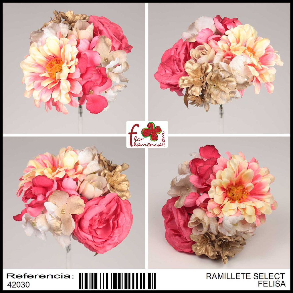 Ramillete Select FLOR FLAMENCA FELISA