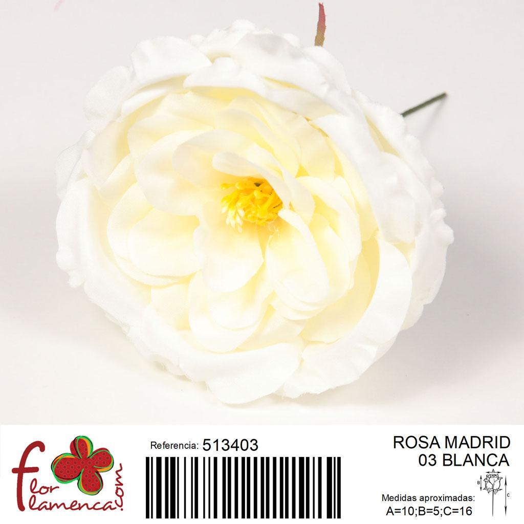 Rosa Flor Flamenca modelo Madrid