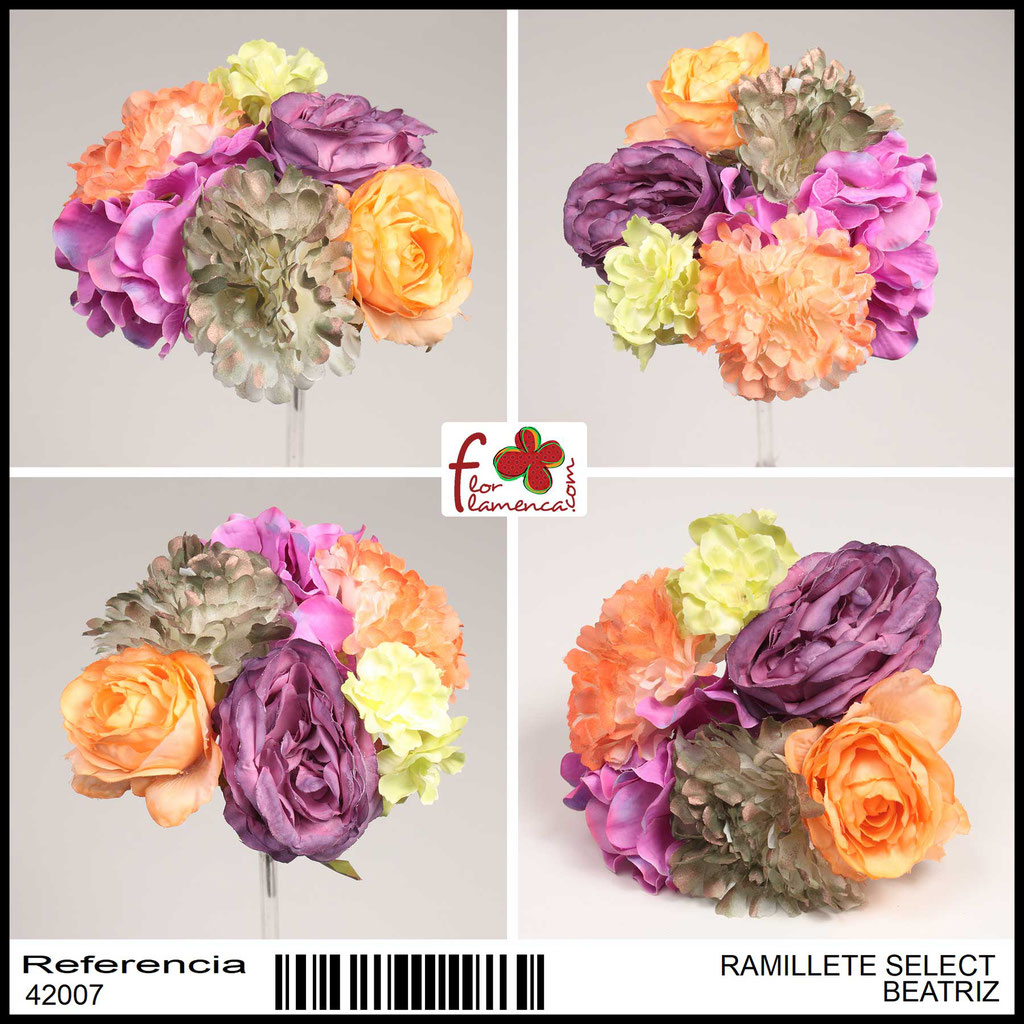 Ramillete Select FLOR FLAMENCA BEATRIZ
