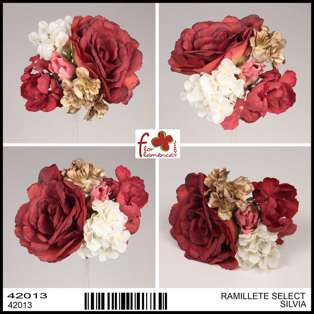 Ramillete Select FLOR FLAMENCA SILVIA