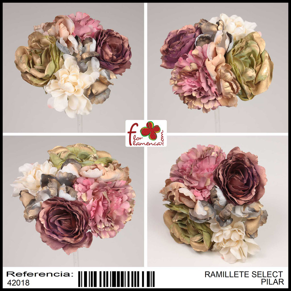 Ramillete Select FLOR FLAMENCA PILAR