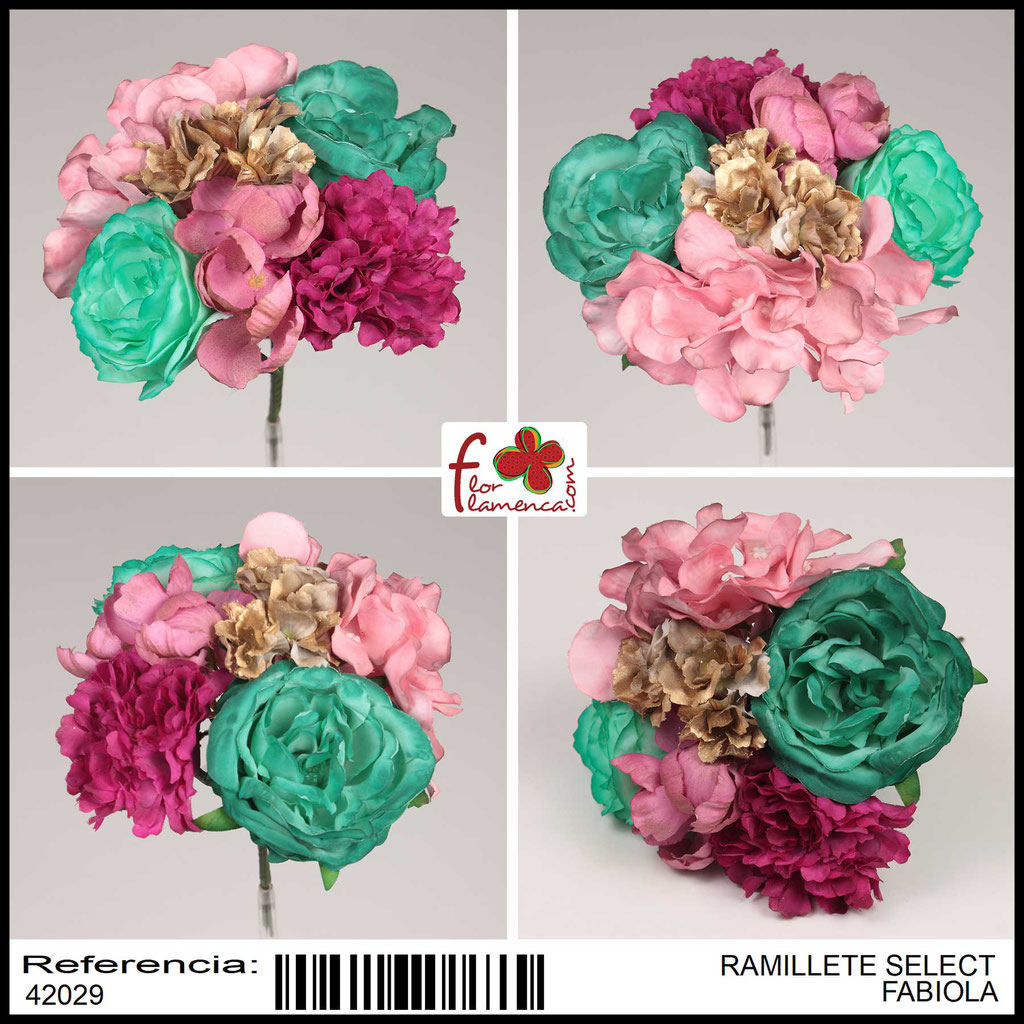 Ramillete Select FLOR FLAMENCA FABIOLA