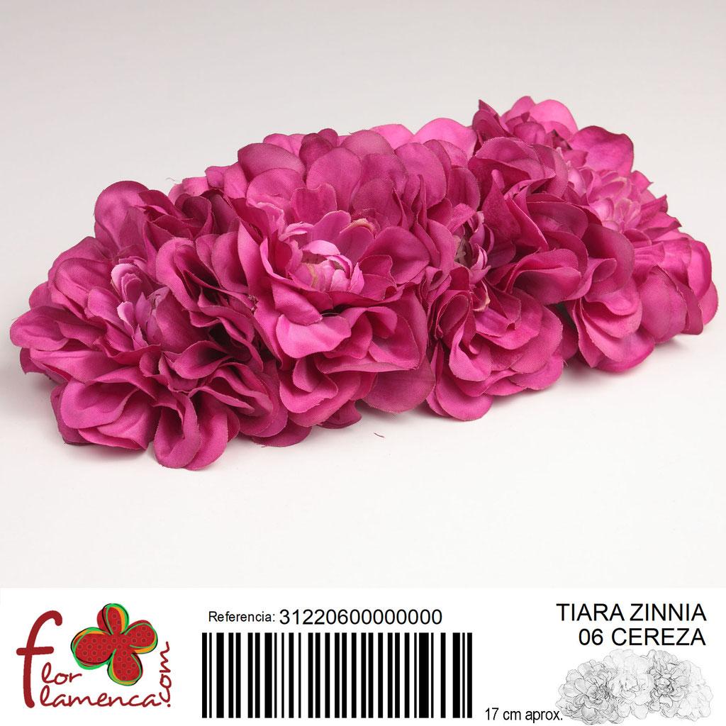 Tiara Flor Flamenca modelo Zinnia