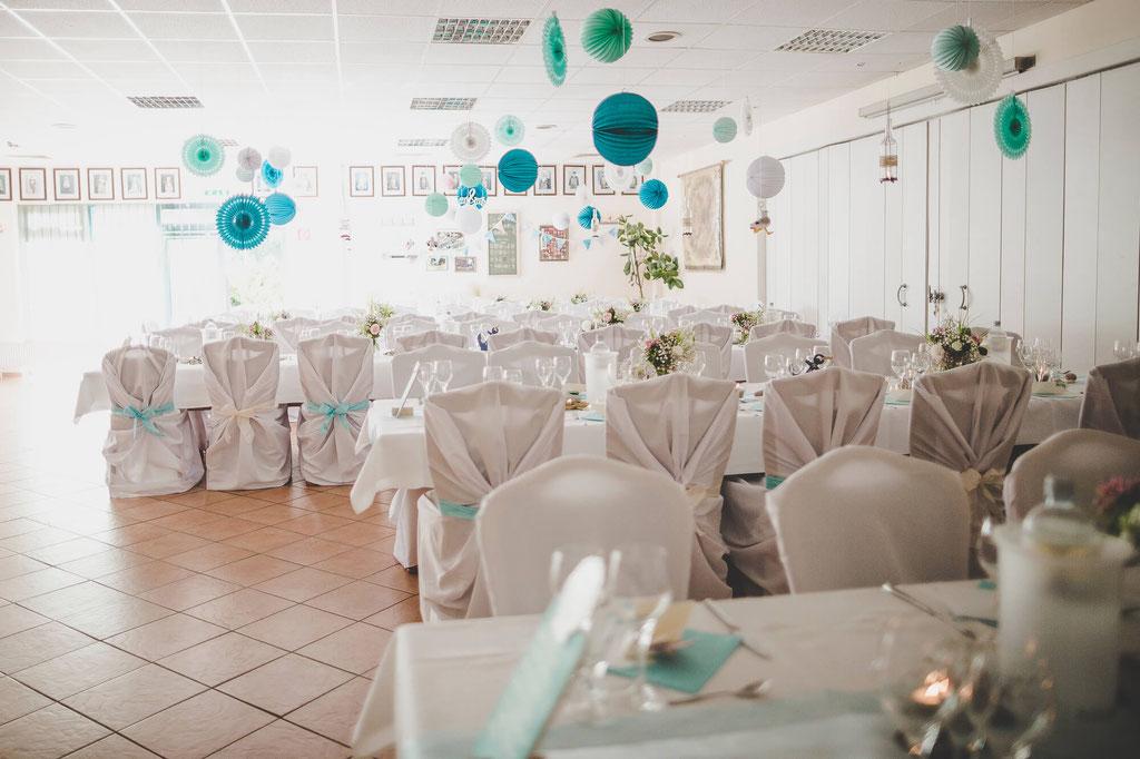 DYI Deko Hochzeitsfeier