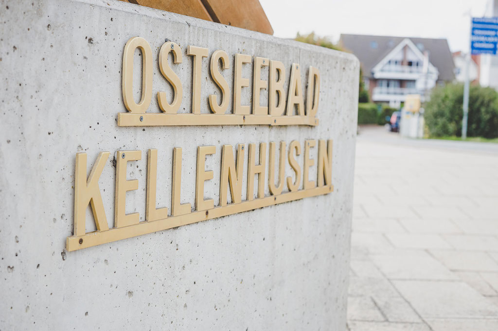 Schild Ostseebad Kellinghusen