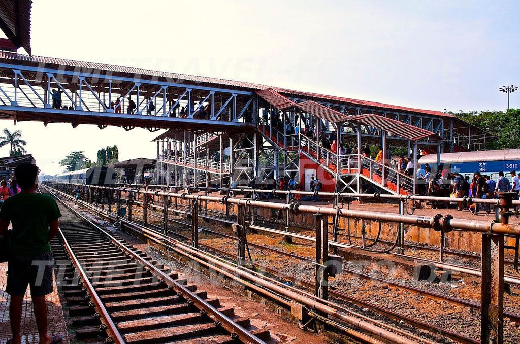 Bahnübergang. Foto: E. Knipschild