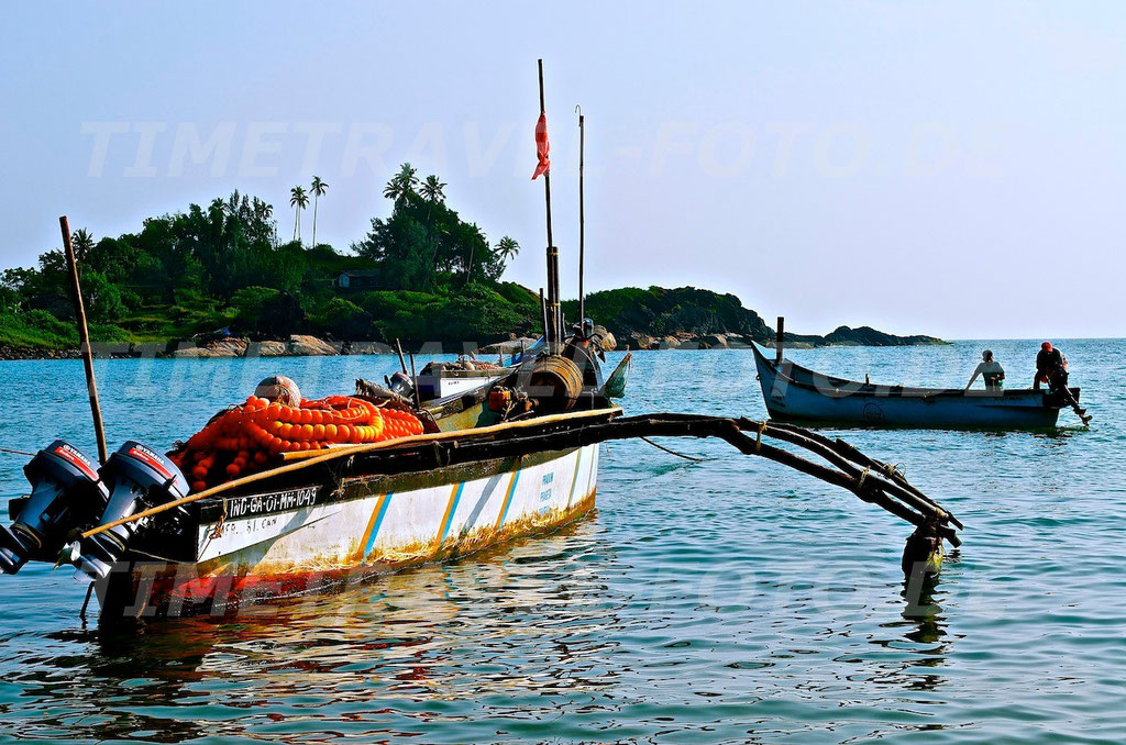Fischerboot. Foto: E. Knipschild