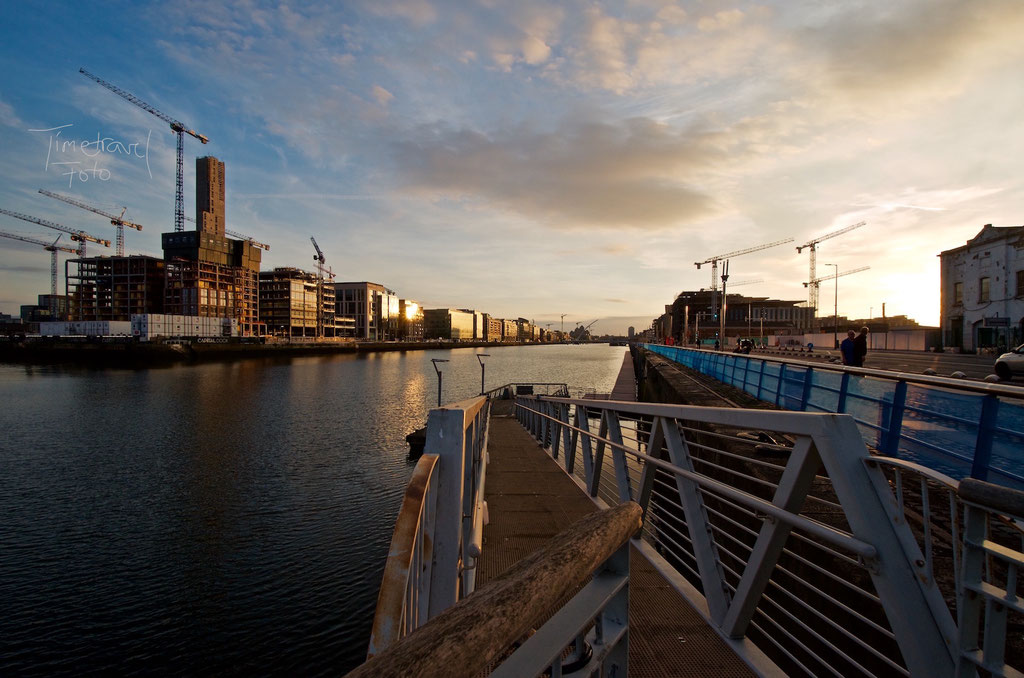 Dublin Port Sunset. Foto: Esther Knipschild