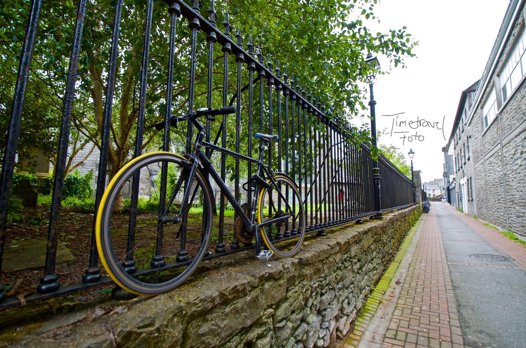 Fahrradflucht, Galway. Foto: Esther Knipschild