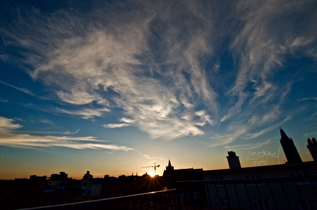 Dublin Sunset. Foto: Esther Knipschild
