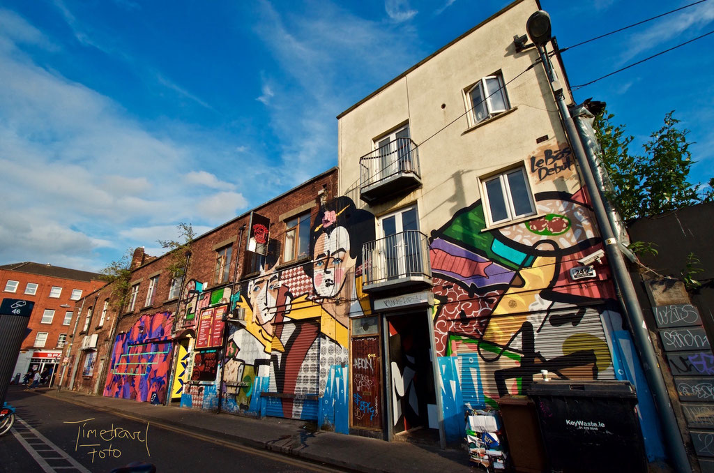 Graffiti, Dublin. Foto: Esther Knipschild