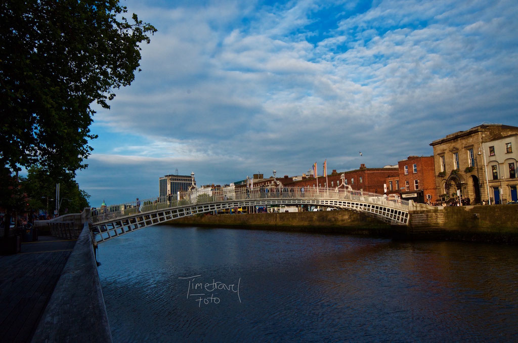 Ha'penny Bridge, Dublin. Foto: Esther Knipschild