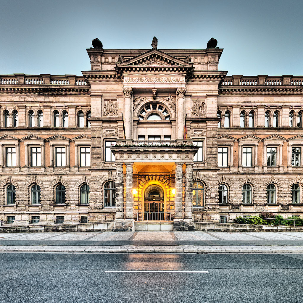 Niedersächsisches Finanzministerium, 95 x 95 cm  ·  Leinwand auf Keilrahmen: € 660,- · Aludibond: € 830,- ·Acrylglas auf Aludibond: € 990,-  · © Stefan Korff