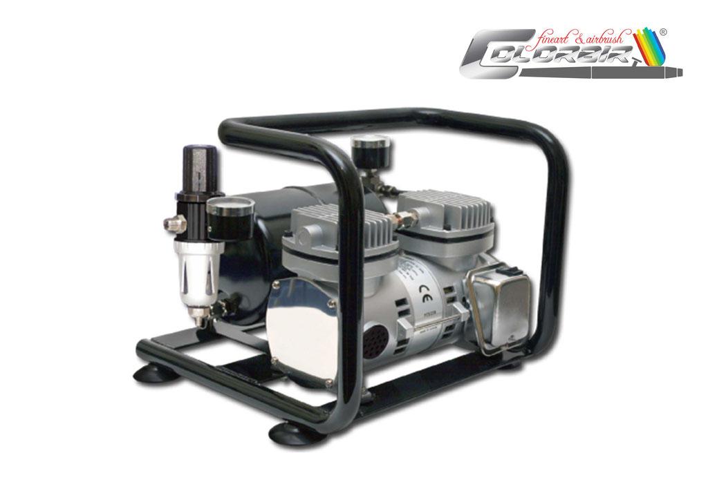 Profikompressor: Saprmax AC 500 Doppelkolbenkompressor Das leise Kraftpaket in sehr guter Qualität