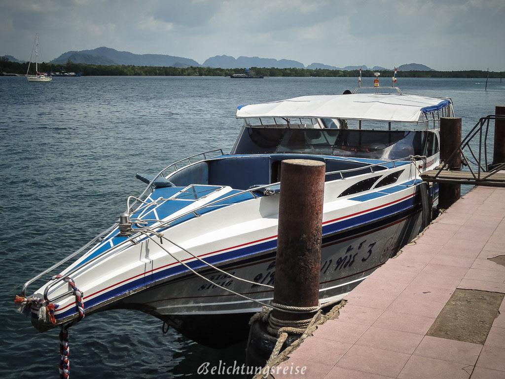 Unser Speedboot