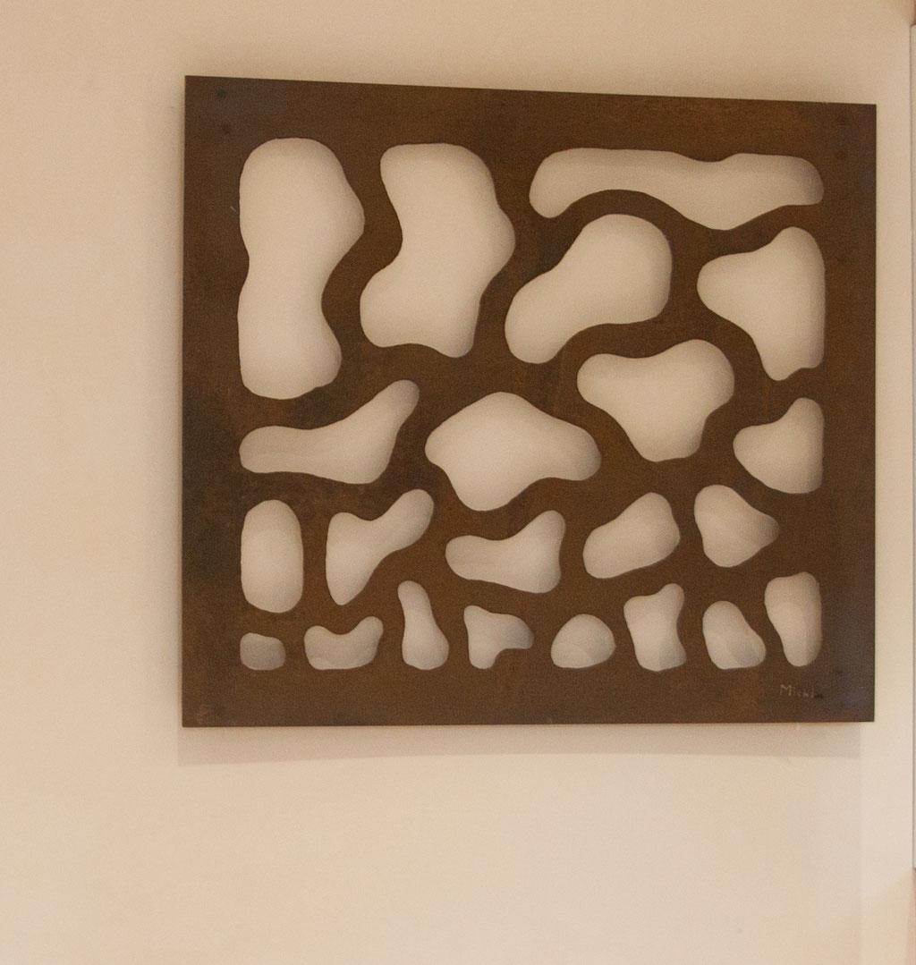 Chorégraphie végétale / Acier rouillé (115 x 100 cm)  © Michel LAURENT (MichL)