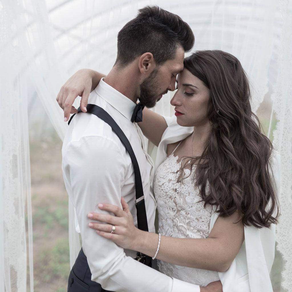 Ausgefallene und dennoch authentische, gleichzeitig moderne Hochzeitsfotos