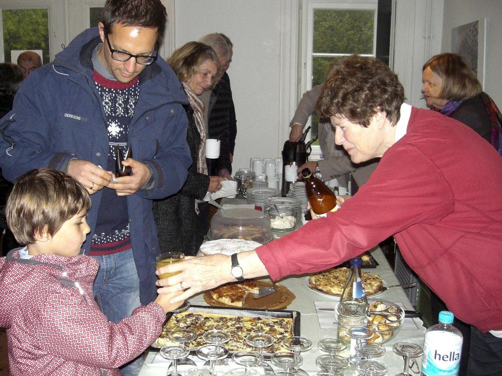 Kleistlesung 18.10.15   Foto: Wolfgang Brammen