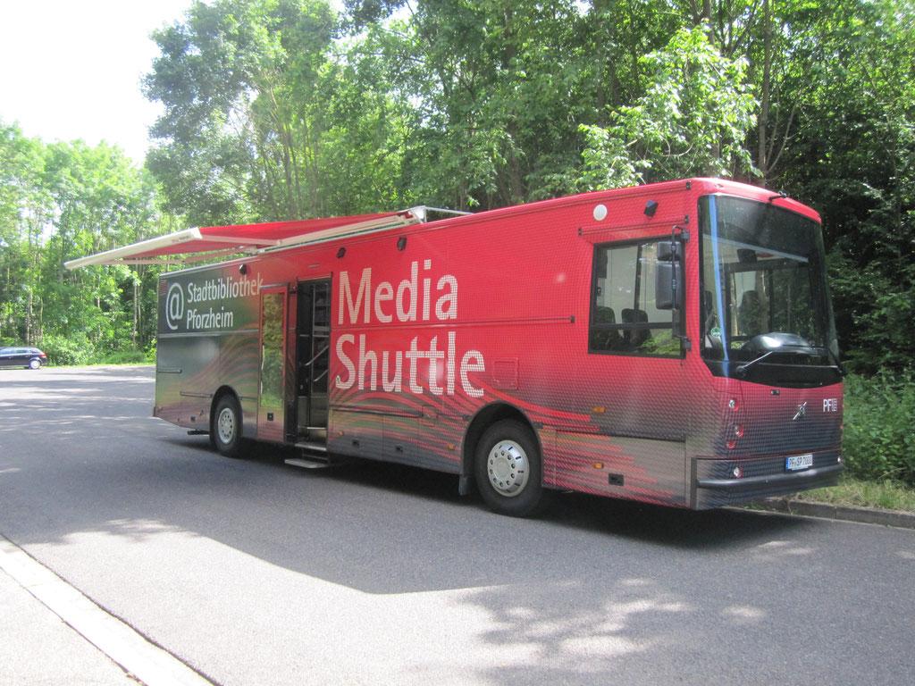 MedieShuttle der Stadtbibliothek Pforzheim