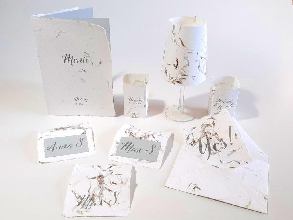 Hochzeitspapeterie Design YES