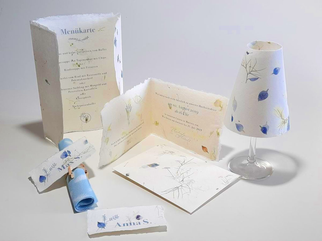 Hochzeitspapeterie Design ILLU
