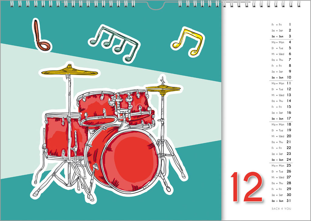 Music Calendars Are Music Gifts – 99 Music Calendars Are 99 Music Gifts.