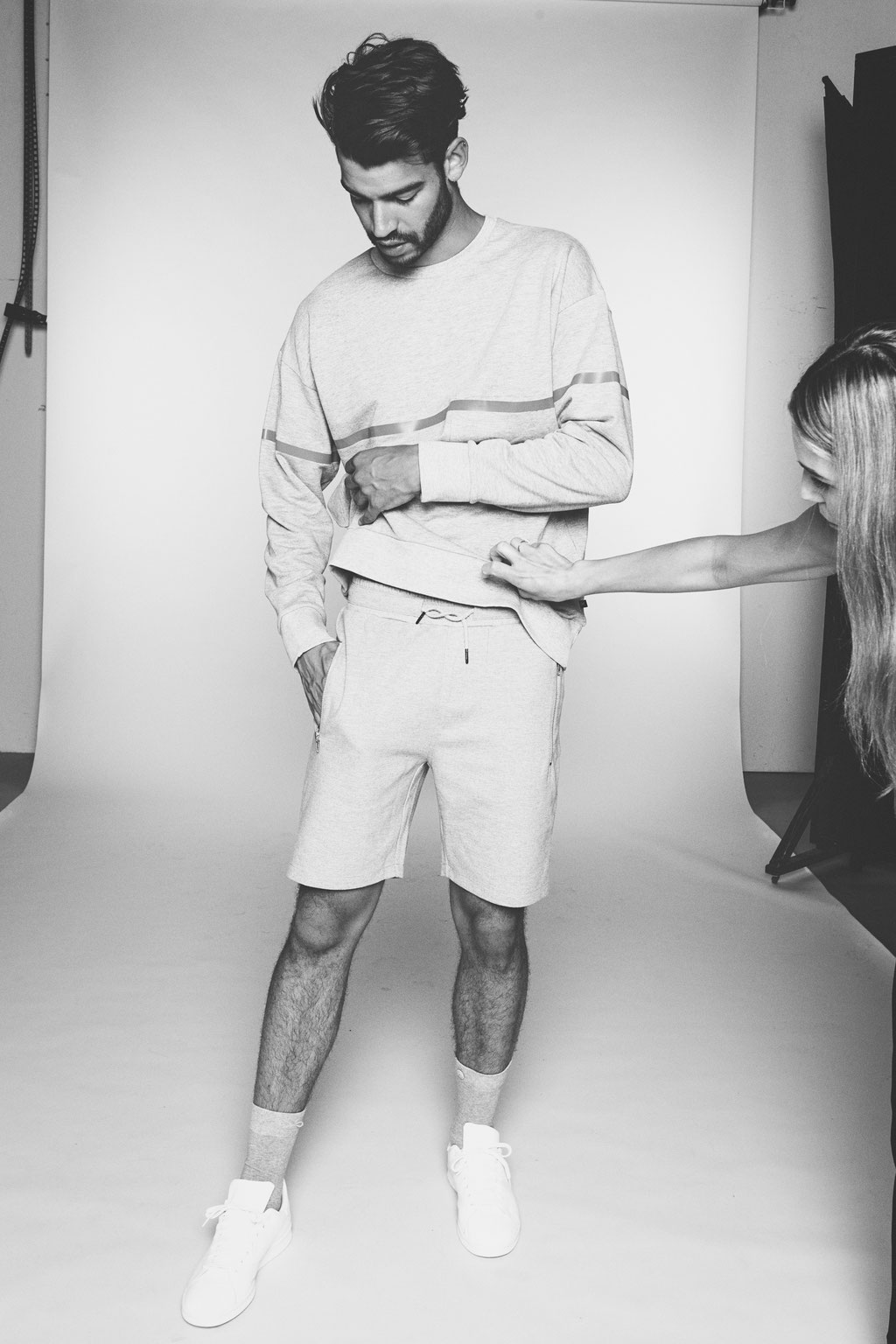 Backstage at Son of a Brand production photoshoot - Photography by Landa Penders