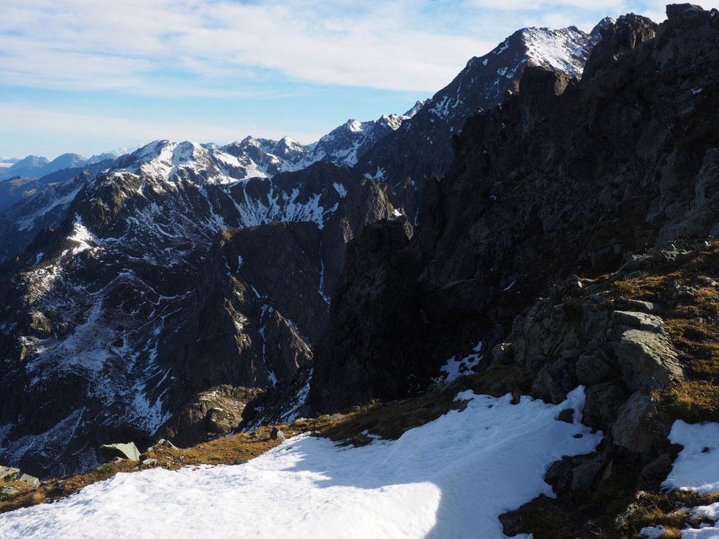 Belledonne c'est déjà une belle ambiance haute-montagne