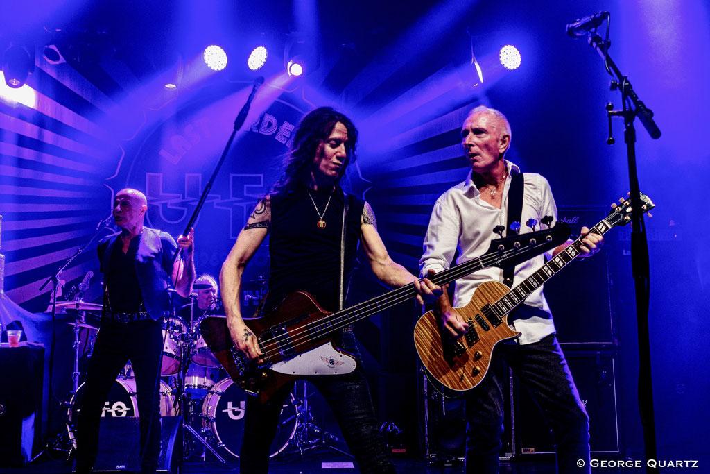 UFO Band,, Rob de Luca and Neil Carter, 50. Anniversary Tour, Neuruppin, 2019