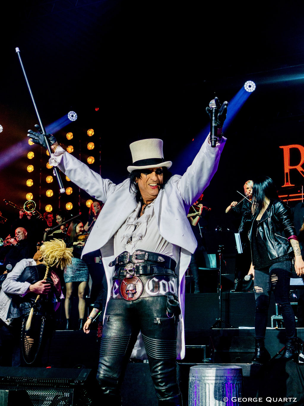 ROCK MEETS CLASSIC, Tour 2020, mit Alice Cooper, Berlin