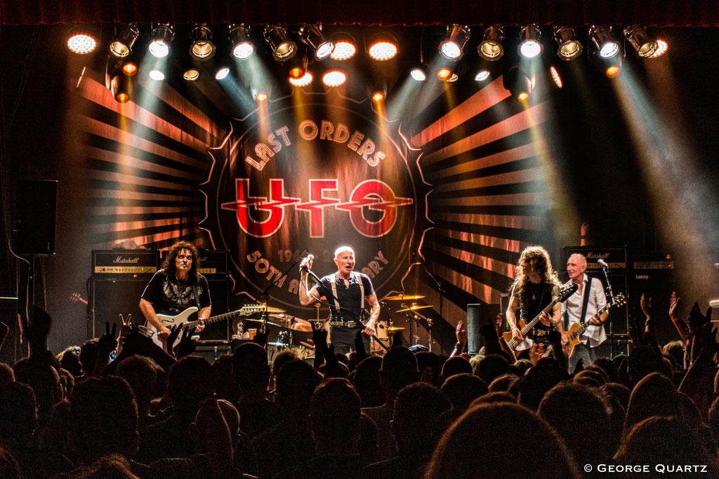 UFO Band, Phil Mogg, 50. Anniversary Tour, Neuruppin, 2019