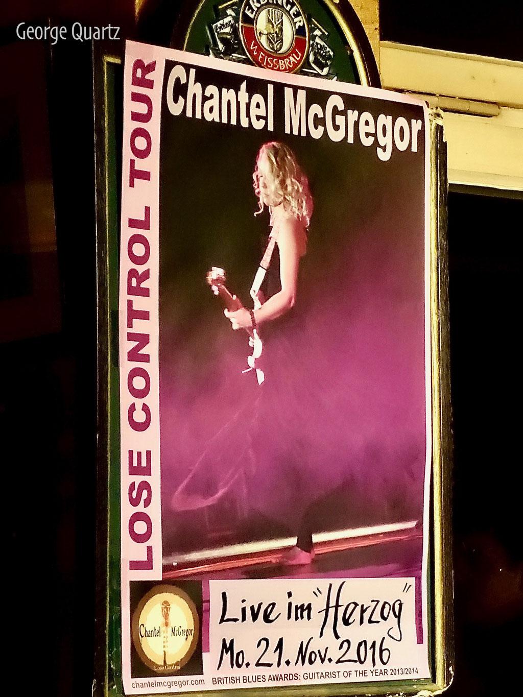 Chantel McGregor 2016 in Celle