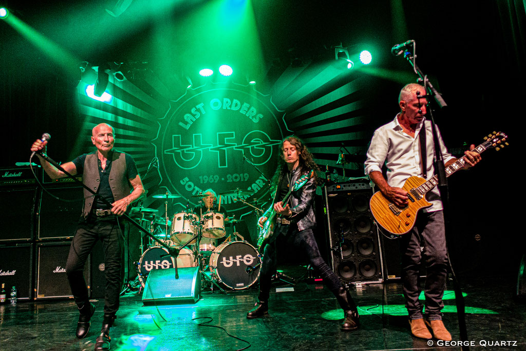 UFO Band, 50. Anniversary Tour, Neuruppin, 2019