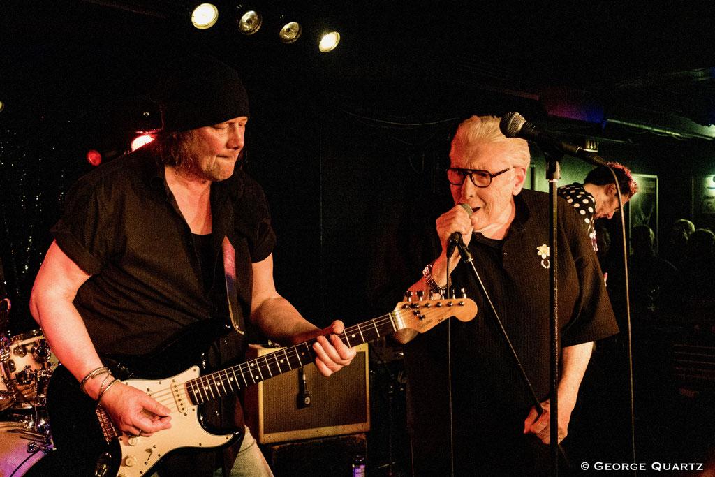 the Hamburg Blues Band, Chris Farlowe, Krissy Mathews