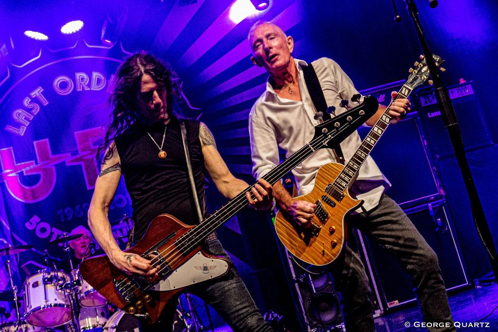 UFO Band, Rob de Luca and Neil Carter, 50. Anniversary Tour, Neuruppin, 2019