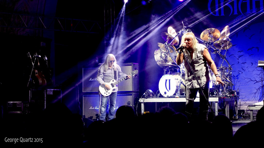 Uriah Heep, 2015 in Leipzig