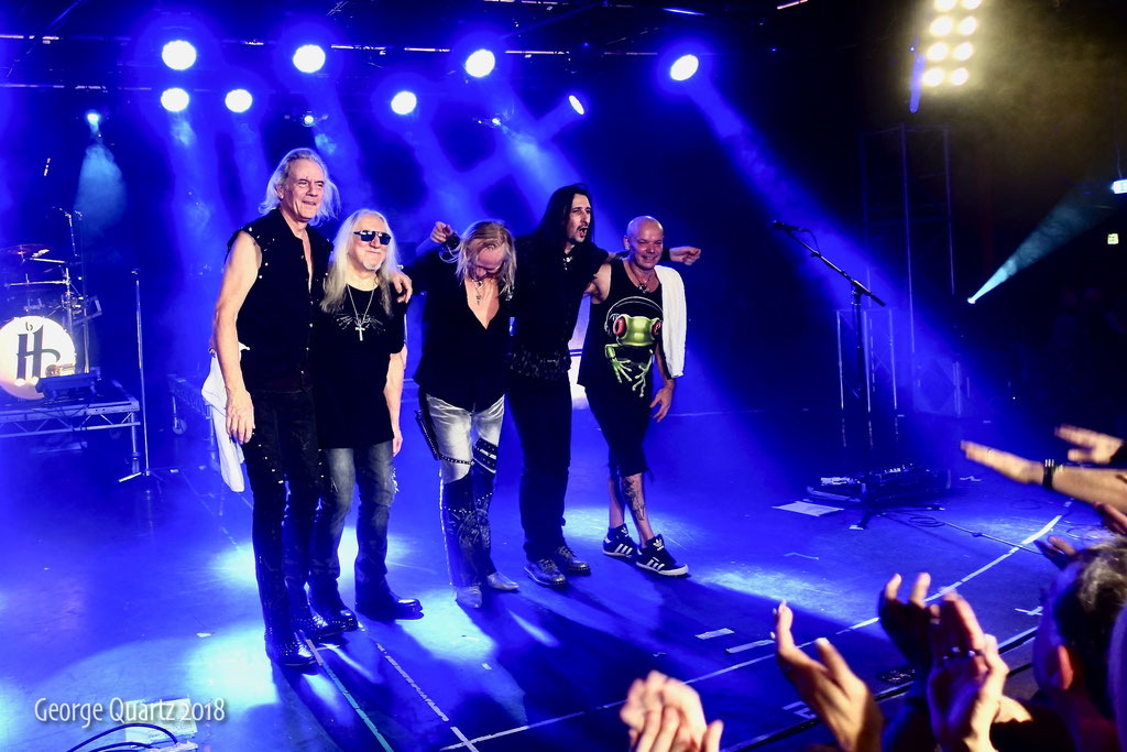 Uriah Heep, 2018 Giants of Rock Festival