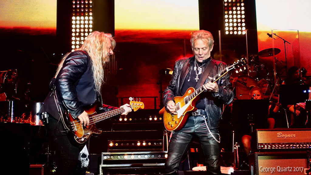 "Mat Sinner, Don Felder (Eagles) -""Rock meets Classic"" 2017 in Berlin"