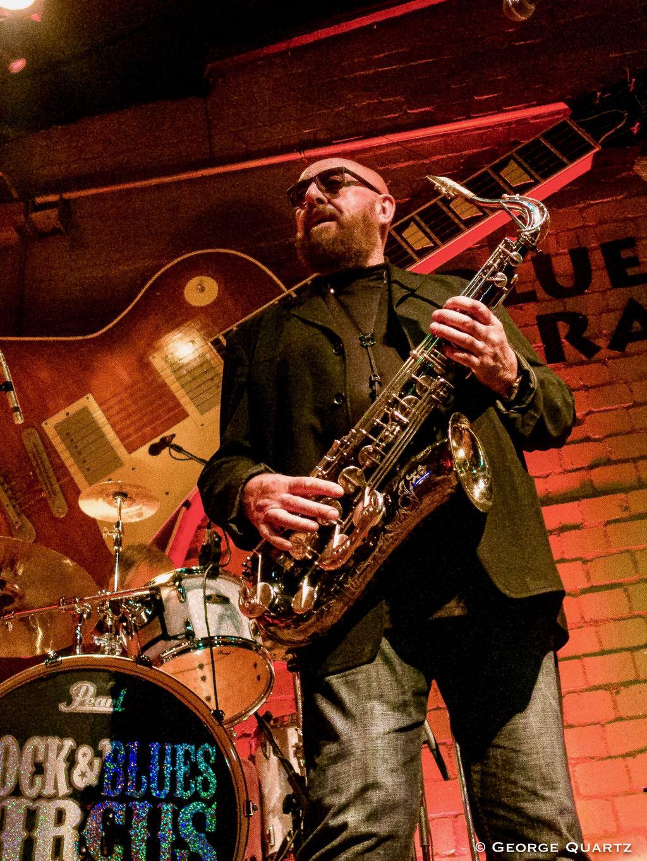 Blues Garage, Hannover (30 October 2019) Pete York's Rock and Blues Circus, Pete York (Spencers Davis Group, Hardin & York), Miller Anderson (Keef Hartley Band),  Zoot Money (Eric Burdon & Animals), Roger Glover (Deep Purple, Rainbow)