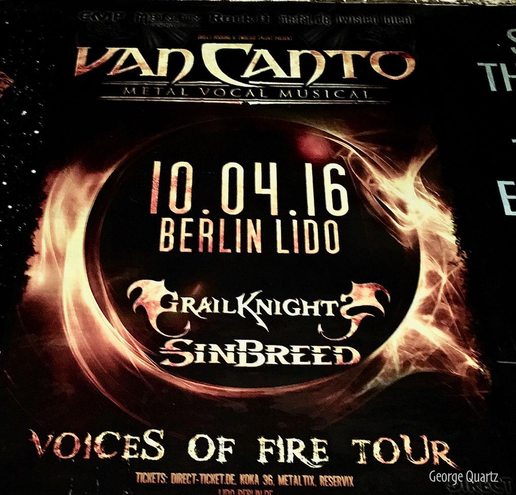 Van Canto 2016 in Berlin