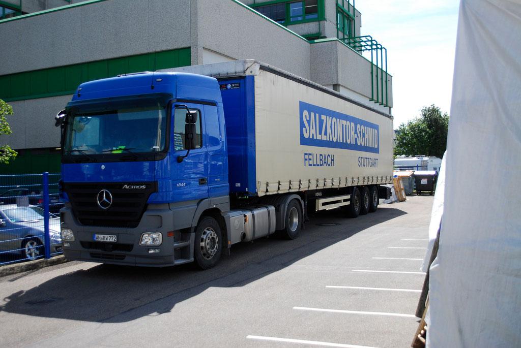 Auftausalz kaufen vom Grosshändler - Salzkontor Schmid GmbH