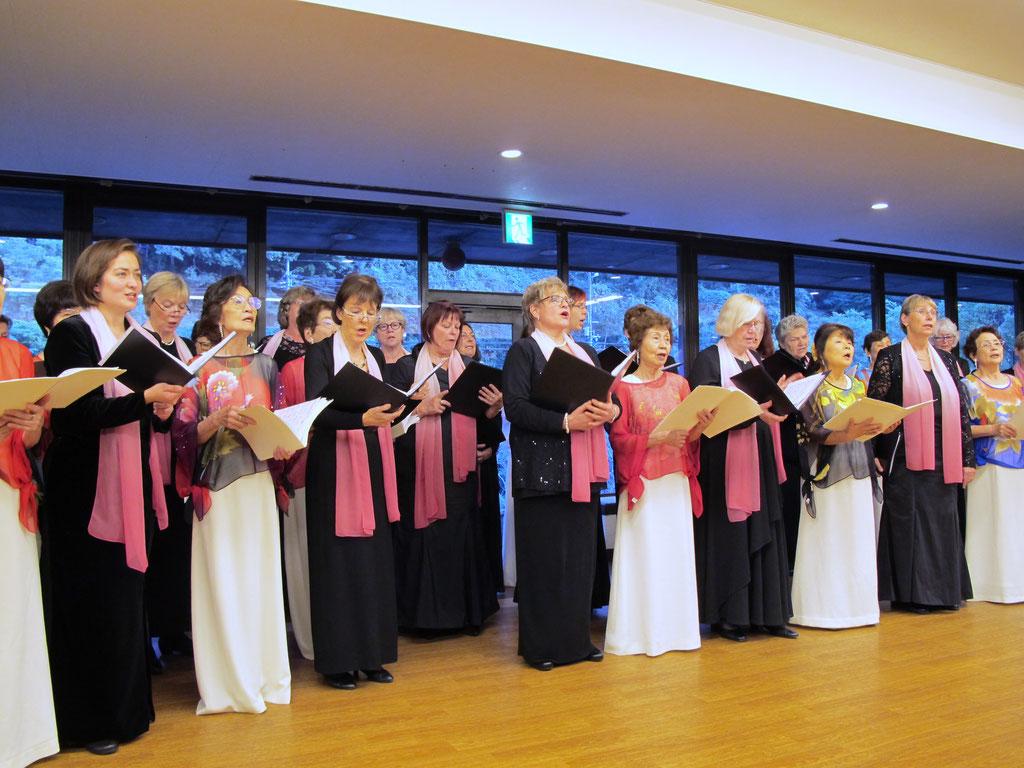 15.10.16 Konzert mit Avenue Ensemble von Frau Abe