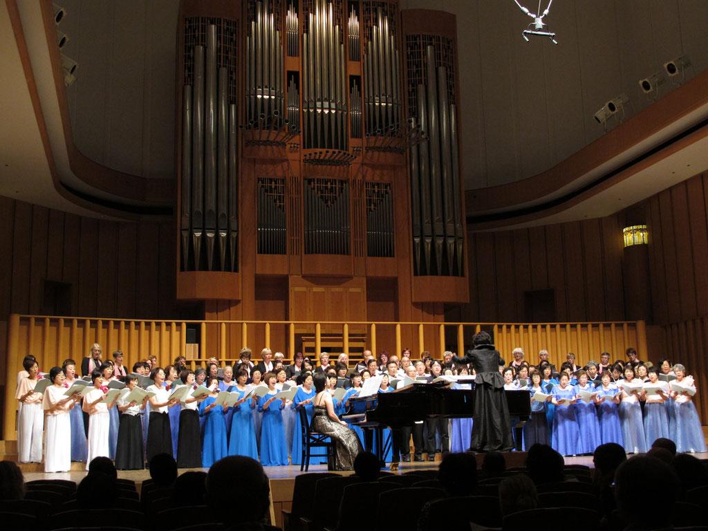 12.10.16 Teilnahme an einem Chorfestival