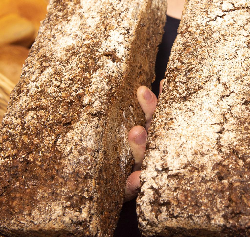 Lieblingsbrot in der Bio Bäckerei Seekrug Langeoog