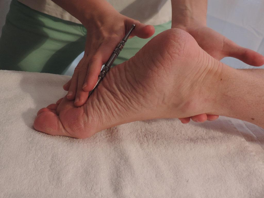 Akupunktmeridian-Massage