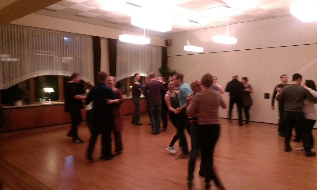 Der erste Discofox-Tanzkurs in Güby bei Schleswig